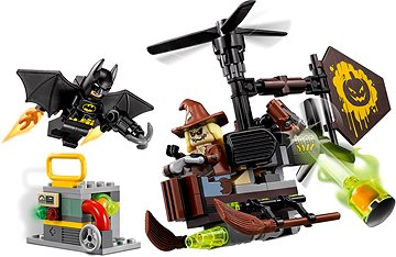 LEGO Batman Movie 70913 Kräftemessen mit Scarecrow Fearful Face Off