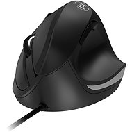 Eternico Wired Vertical Mouse MDV200, Black - Mouse