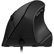 Eternico Wired Vertical Mouse MDV300, Black - Mouse