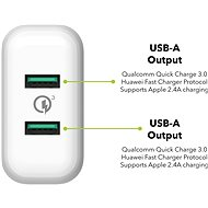AlzaPower Q200 Quick Charge 3.0 white - AC Adapter