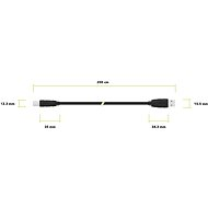 AlzaPower LinkCore USB AB 2m - Data cable