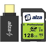 AlzaPower USB-C (M) to USB-A 3.0 (F) - Adapter