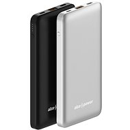 AlzaPower Thunder 10000mAh Fast Charge + PD3.0 Silver - Powerbank