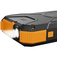 AlzaPower SolarScout 20000mAh Orange - Powerbank