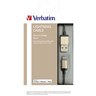 Verbatim Lightning Cable Sync & Charge 30cm, Champagne Gold - Data cable