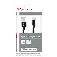 Verbatim Lightning Cable Sync & Charge 1m, Black - Data cable
