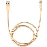 Verbatim Lightning Cable Sync & Charge 1m, Gold - Data cable