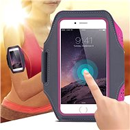 Mobilly Handheld Sports Case, Black - Mobile Phone Case