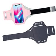 Mobilly Neoprene Handheld Sports Case, Pink - Mobile Phone Case
