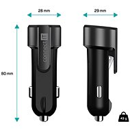 CONNECT IT Emergency Car Charger, Anthracite - Car Charger