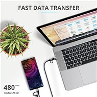 Trust Keyla Strong 4-in-1 USB Cablet 1m - Data Cable