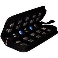 Mediarange BOX99 for Flash Drives and SD Cards, Black - Memory Card Case