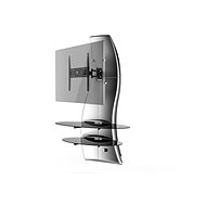 Meliconi Ghost Design 2000 Rotation Silver - TV Stand