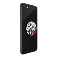 PopSockets PopGrip Gen.2, DISNEY NIGHTMARE BEFORE CHRISTMAS, Jack and Sally Love - Mobile Phone Holder