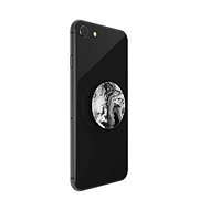PopSockets PopGrip Gen.2, Ghost Marble, Black and White Marble - Mobile Phone Holder
