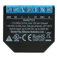 Shelly 2.5 Switch/Shutter Module With Power Consumption Measurement, WiFi -  WiFi Switch