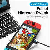Vention Type-C (USB-C) 2.0 (M) to USB-C (M) 100W / 5A Cable 1.5M Black PVC Type - Data Cable