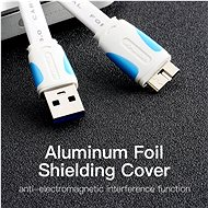 Vention USB 3.0 (M) to Micro USB-B (M), 0.25m, Black - Data cable