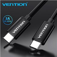 Vention Type-C (USB-C) Cable (4K/PD/60W/5Gbps/3A), 1.5m, Black - Data cable