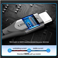 Vention Type-C (USB-C) <-> USB 2.0 Cable 3A, Grey, 3m, Aluminium Alloy Type - Data cable