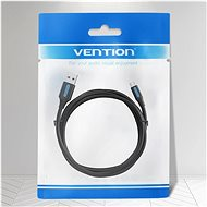 Vention USB 2.0 -> MicroUSB Charge & Data Cable 3m Black - Data Cable
