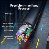 Vention USB 3.0 Male to USB Female Extension Cable 0.5M Black PVC Type - Data Cable