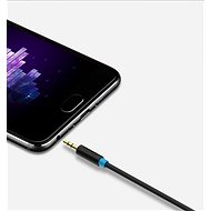 Vention 6.5mm Jack Male to 3.5mm Male Audio Cable, 2m, Black - Audio Cable