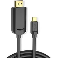 Vention Type-C (USB-C) to HDMI Cable, 2m, Black - Video Cable