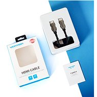 Vention HDMI 2.1 Cable 8K, 3m, Black, Metal Type - Video Cable