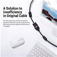 Vention VGA Extension Cable, 1.5m, Black - Video Cable