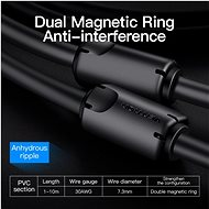 Vention DVI (24 + 5) to VGA Cable, 2m, Black - Video Cable