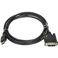 ROLINE DVI - HDMI Connection Cable, shielded, 2m  - Video Cable