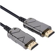 PremiumCord Ultra High Speed HDMI 2.1 Optical Fibre Cable 8K @ 60Hz, 4K @ 120Hz, Gold-Plated, 5m - Video Cable