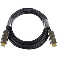 PremiumCord Ultra High Speed HDMI 2.1 Optical Fibre Cable 8K @ 60Hz, 4K @ 120Hz, Gold-Plated, 15m - Video Cable