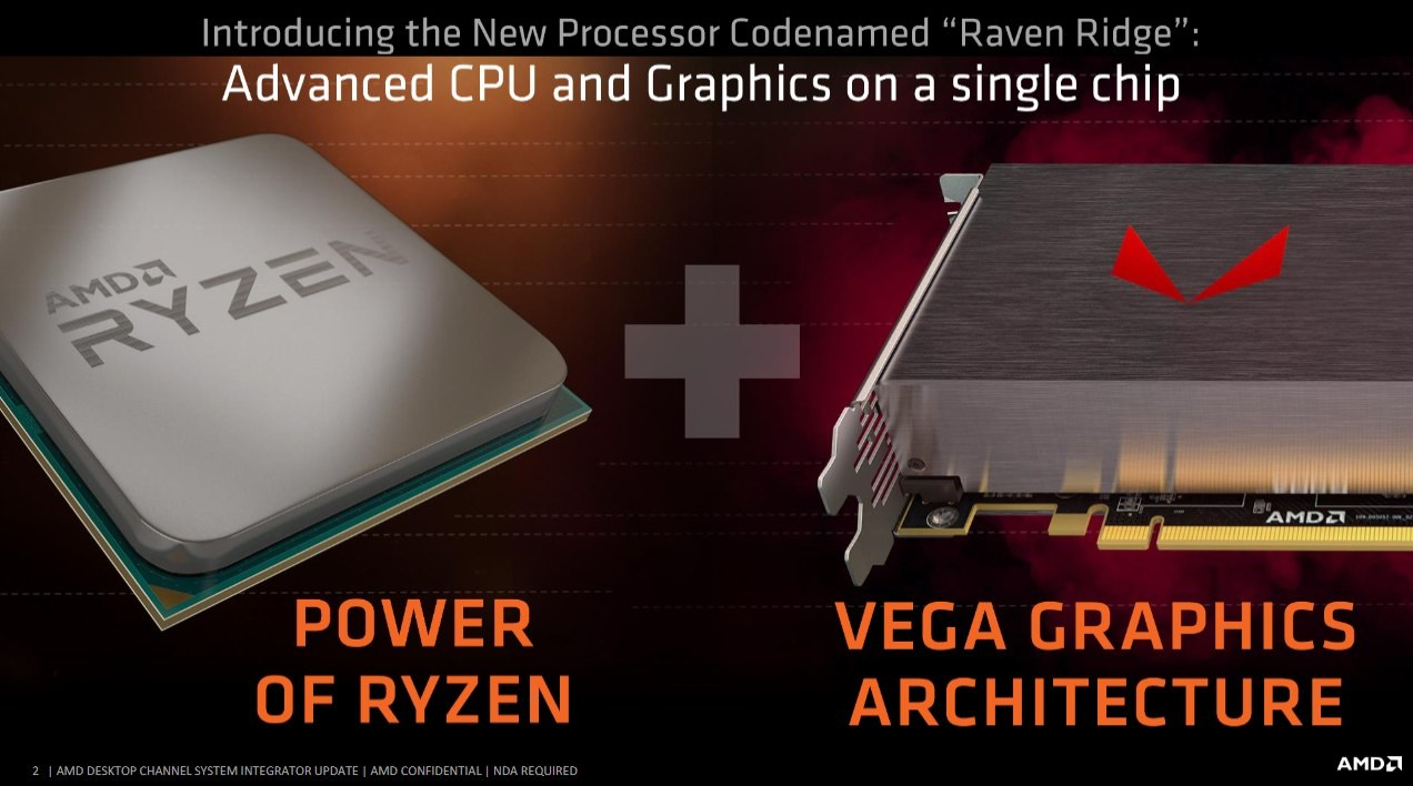 AMD APU RAVEN RIDGE