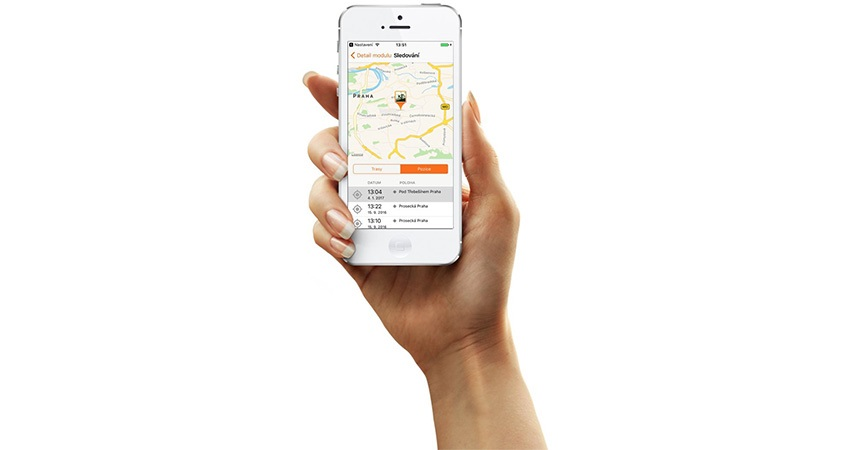 GPS trackers, smart phones, applications