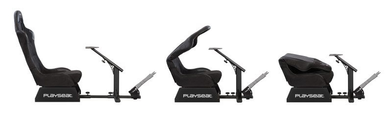 Race like a pro with the Playseat Evolution Alcantara!