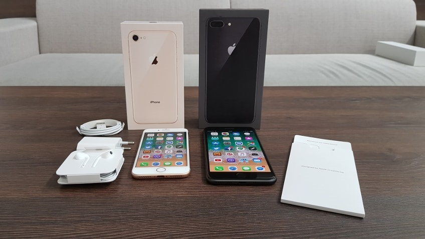 Apple iPhone 8, package contents
