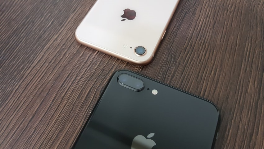 Apple iPhone 8 and 8 Plus, camera