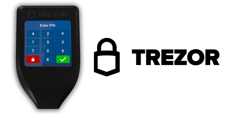 Trezor T - A Hardware Wallet for Cryptocurrency