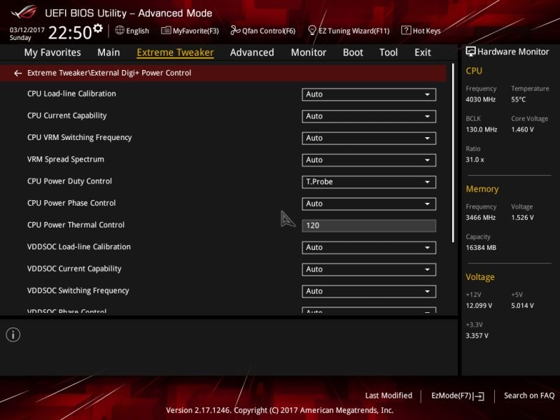 Supply cascade range from Asus; Auto-setup
