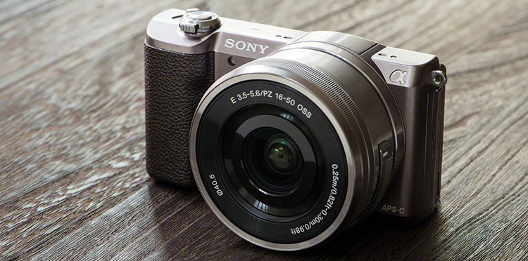 Sony Alpha A5100 brown + 16-50mm lens