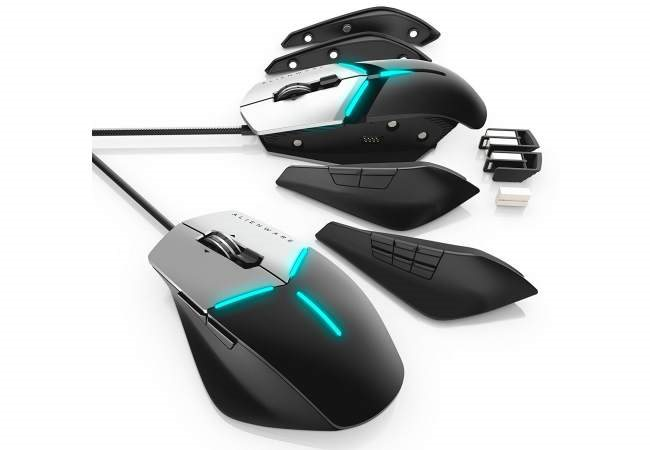 AW558 Advanced Wired Optical Gaming Mouse w// RGB Lighting Alienware
