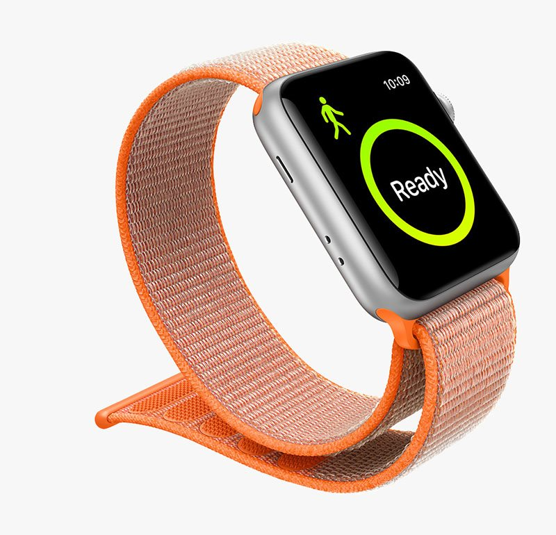 Apple Watch Series 3 42mm GPS Silver Aluminum Case with Fog Sport ... 846eaefb943
