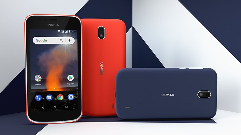 Image result for Nokia 1 Blue