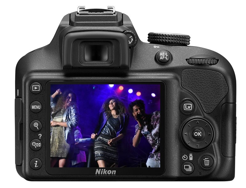 Nikon d3400 black 18 55mm vr 70 300mm vr dslr camera be creative with built in special effects the nikon fandeluxe Image collections