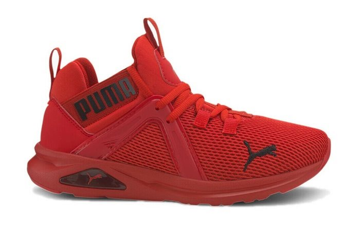 Puma Enzo 2 Weave Jr, Red - Casual