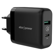AlzaPower Q200C Quick Charge 3.0 Black - Charger