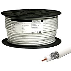Maximum coaxial cable RG6-100, 100m - Cable