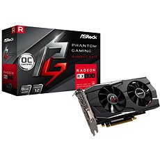ASROCK Radeon RX580 Phantom Gaming D Radeon 8G OC - Graphics Card